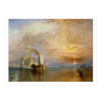 The Fighting Temeraire, 1839 Postcard
