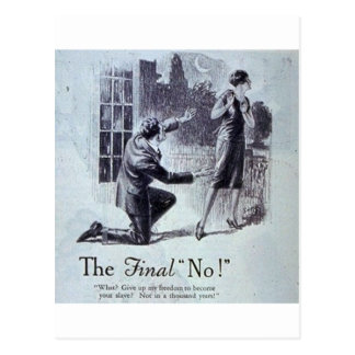 The Final No Postcard