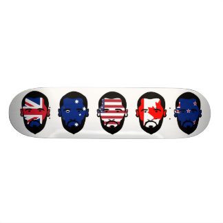 "The ""Five Eyes"" 20 Cm Skateboard Deck"