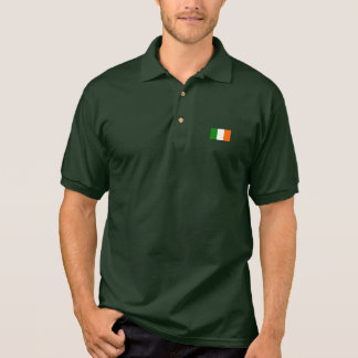 The Flag of Ireland Polo T-shirts