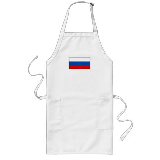 The Flag of Russia Long Apron