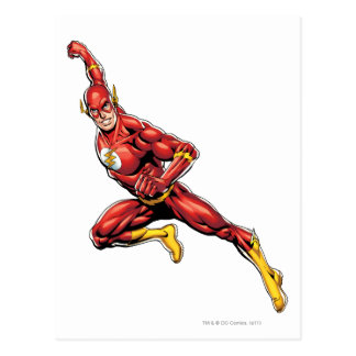 The Flash Lunging Postcard