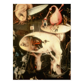 The Garden of Earthly Delights: Hell Postcard