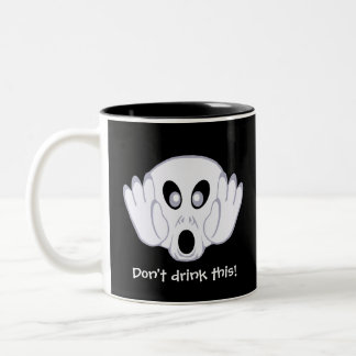 The Ghost Was Busted Two-Tone Mug