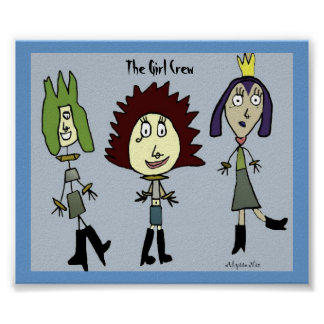 The Girl Crew Poster