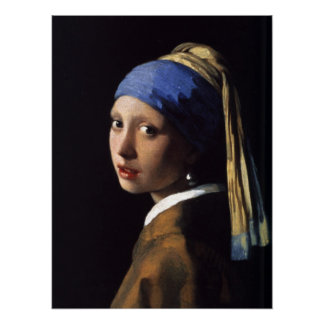 The Girl With The Pearl Earring Poster