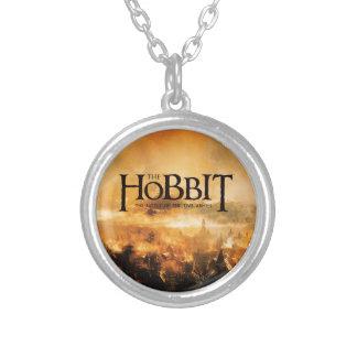The Hobbit: THE BATTLE OF FIVE ARMIES™ Logo Round Pendant Necklace
