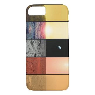 The horizons of Venus, Earth, Moon, Mars, and Tita iPhone 7 Case
