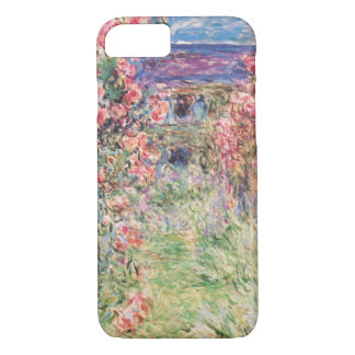 The House among the Roses, Claude Monet iPhone 7 Case