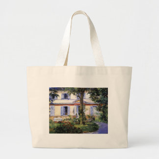 The House at Rueil by Edouard Manet Jumbo Tote Bag