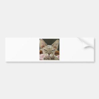 The Hug Me cat Bumper Sticker