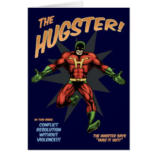 The Hugster Greeting Card