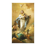The Immaculate Conception by Giovanni B. Tiepolo Stretched Canvas Prints