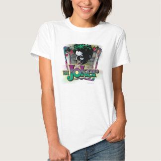 The Joker - Face and Logo Tshirt