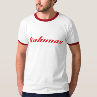 The Kahunas T - Grey/Red Logo T-shirts