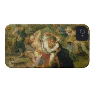 The Kermesse, detail of peasants dancing, c.1635-3 iPhone 4 Cover