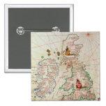 The Kingdoms of England and Scotland 15 Cm Square Badge