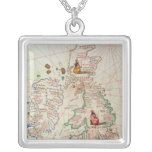 The Kingdoms of England and Scotland Square Pendant Necklace