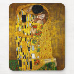 The Kiss by Gustav Klimt Mouse Pad