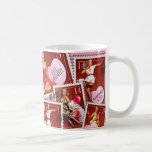 The Kitsch Bitsch : Valentines Stamp Collection Basic White Mug