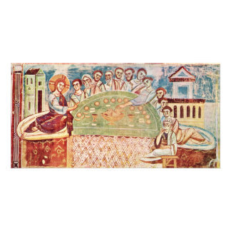 The Last Supper By Italo-Byzantinischer Meister (B Photo Greeting Card