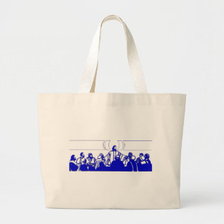 The Last Supper on Holy Thursday Jumbo Tote Bag
