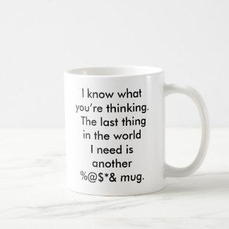 The last thing in the world basic white mug