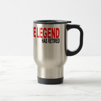 The Legend has Retired T-Shirts.png Stainless Steel Travel Mug