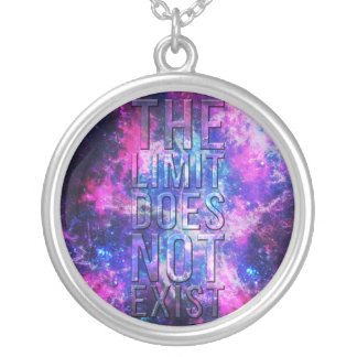 The limit does not exist. round pendant necklace