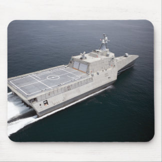 The littoral combat ship Independence 3 Mouse Pad