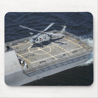 The littoral combat ship USS Freedom Mouse Pad