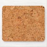 The Look of Macadamia Cork Burl Wood Grain Mouse Pad