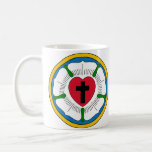 The Luther Rose Lutheranism Martin Luther Basic White Mug
