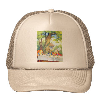 The Mad Hatters Tea Party Full Color Cap