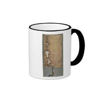 The Magna Carta of Liberties, Third Version Ringer Mug