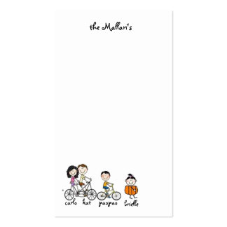 the mallari's pack of standard business cards