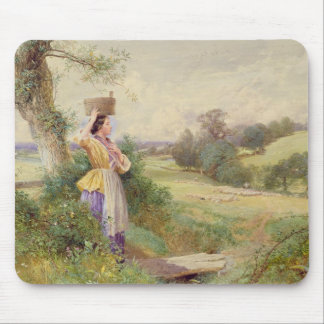 The Milkmaid, 1860 Mouse Pad