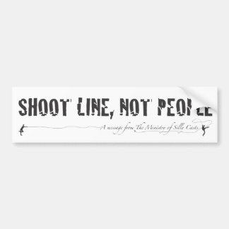 The Ministry of Silly Casts B2 Bumper Sticker