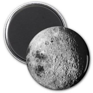 The Moon 6 Cm Round Magnet