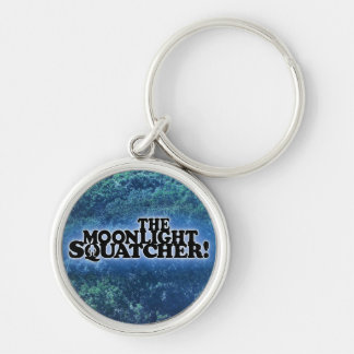 The Moonlight Squatcher - Multiple Products Silver-Colored Round Key Ring