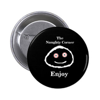 The Naughty Corner - Enjoy 6 Cm Round Badge