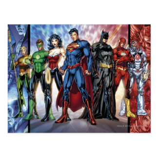 The New 52 - Justice League #1 Postcard