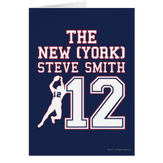The New York Steve Smith Greeting Card