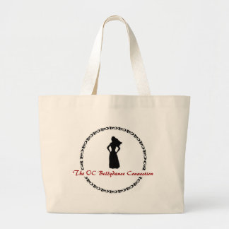 The OC Bellydance Connection Tote Jumbo Tote Bag