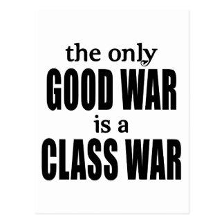 The Only Good War is a Class War Postcard