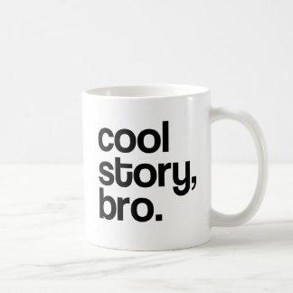 THE ORIGINAL COOL STORY BRO BASIC WHITE MUG