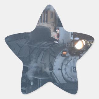 The Polar Express Engine Star Sticker