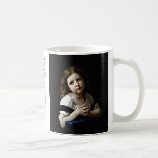 The Prayer - William Bouguereau Basic White Mug