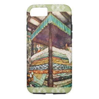 The Princess and the Pea Fairy Tale Illustration iPhone 7 Case