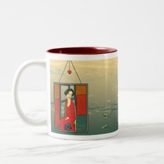The Prodigal Abroad Two-Tone Mug